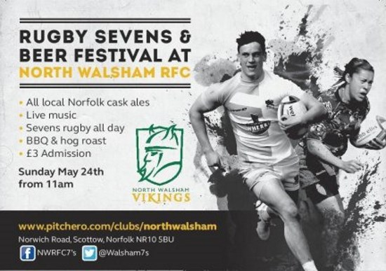 Norfolk Club Planning Great Day of Rugby Sevens