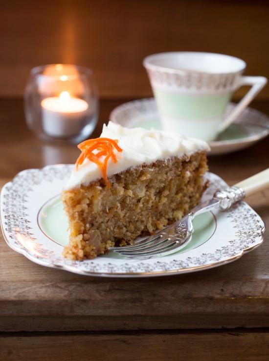 CAKES; Alfred Pearce; Carrot & Pineapple Cake 8