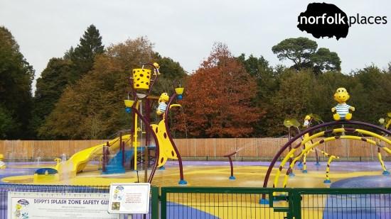 Dinosaur Adventure - Dippy's wet play area