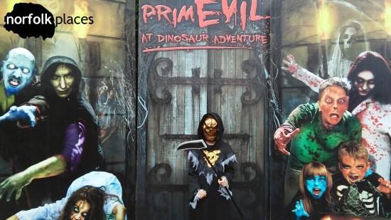Dinosaur Adventure - Primevil; The Reaper appears!