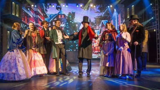 2016 Christmas Spectacular at Potters Resort