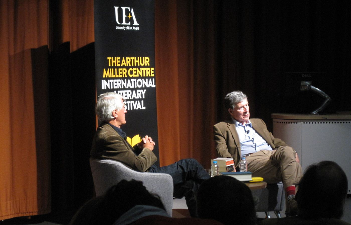 Christopher Andrew at UEA Literary Festival
