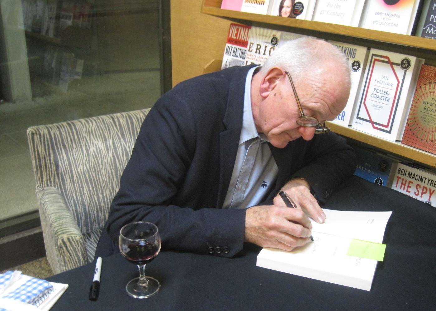 Henry Marsh at UEA Literary Festival