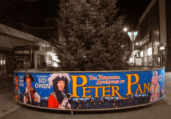 Peter Pan at Marina Theatre Lowestoft - photo credit Daniel Bardsley