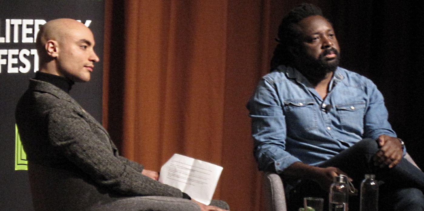 Marlon James at the UEA Literary Festival