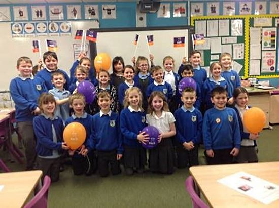 Poringland Primary School raise funds for EACH