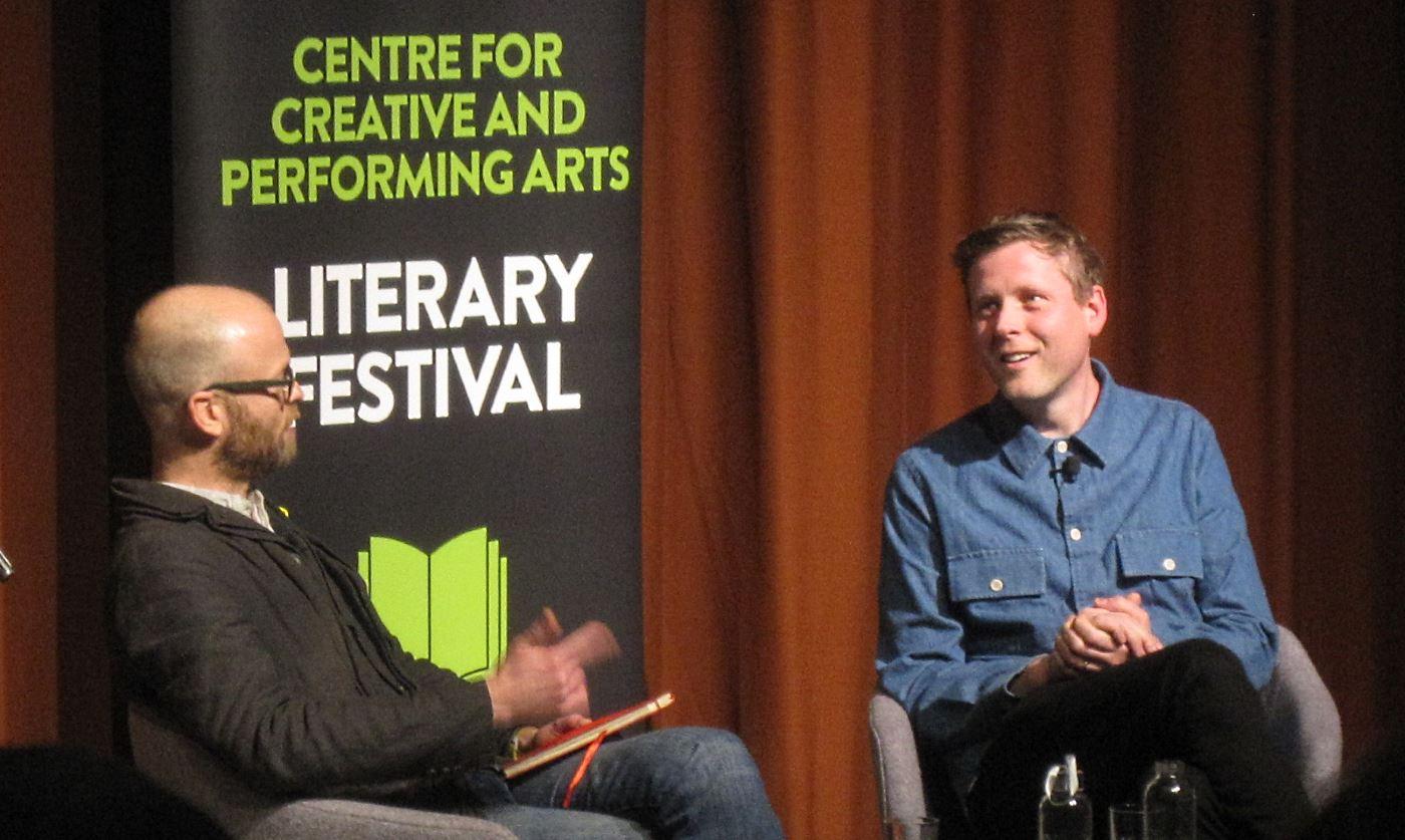 Max Porter @ UEA Literature Festival